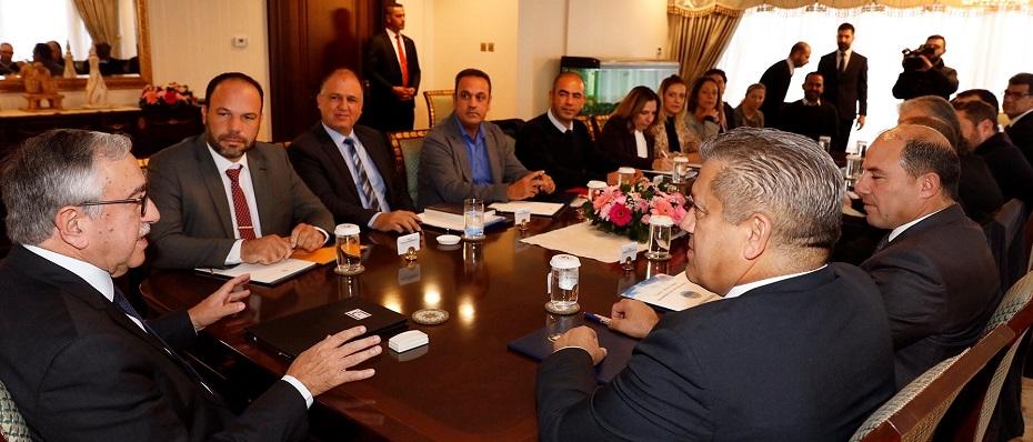 Mağusa, İskele, Yeniboğaziçi İmar Planı, Cumhurbaşkanı Mustafa Akıncı başkanlığındaki toplantıda ele alındı