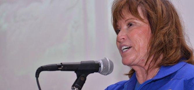 NASA'nın ünlü emekli kadın astronotu Dr. Anna Fisher Yakın Doğu Üniversitesi'nde liseli öğrenciler ile biraraya geldi