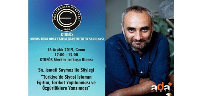 """KTOEÖS, """"Türkiye'de Siyasi İslamın Eğitim, Tarikat Yapılanması ve Özgürlüklere Yansıması"""" konulu söyleşi düzenliyor"""