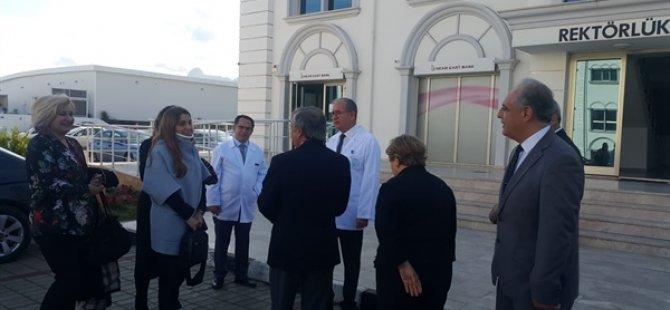 YÖDAK Girne Üniversitesi'nde incelemelerde bulundu