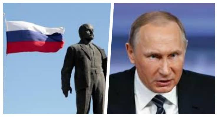 Putin yine Lenin'e yüklendi: Rus devletinin altını oydu
