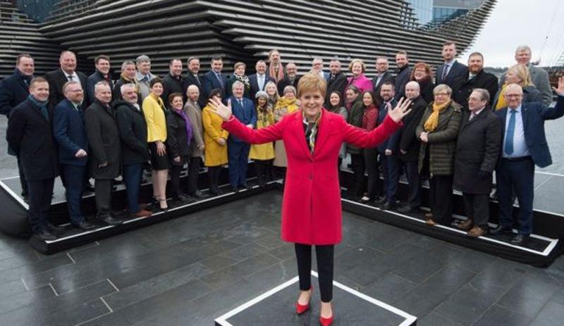 Seçimlerin ardından İskoçya bayrak açtı: Bizi zorla Birleşik Krallık'ta tutamazsınız