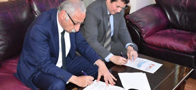 Girne Belediyesi ve ARUCAD arasinda protokol imzalandi