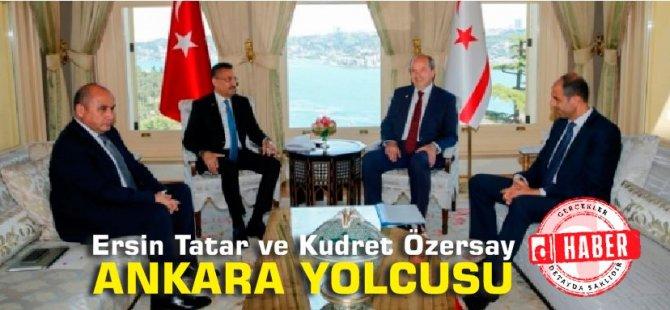 Tatar ve Özersay Ankara yolcusu