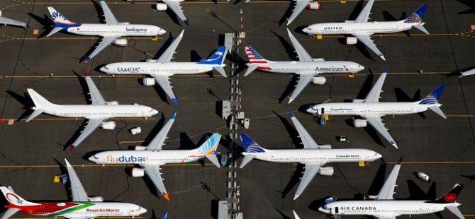Boeing iki kez düşen uçağının üretimini askıya aldı