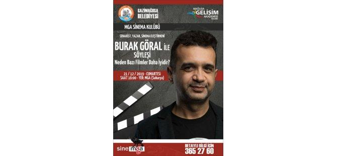 Mağusa Gelişim Akademisi Sinema Kulübü Cumartesi günü Burak Göral'ı ağırlıyor