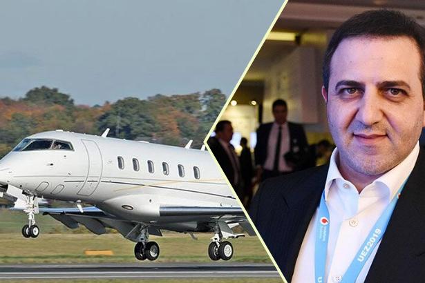 Simit Sarayı patronu devletten aldığı teşvikle uçak satın almış
