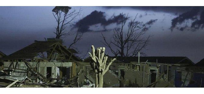 ABD'deki hortum ve fırtınalarda ölenlerin sayısı 4'e yükseldi