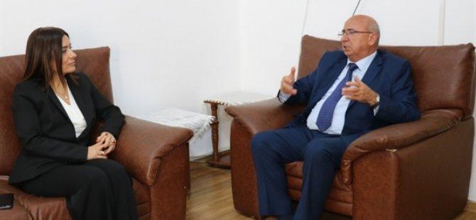 TDP Genel Başkanı Özyiğit, BRT heyetini kabul etti