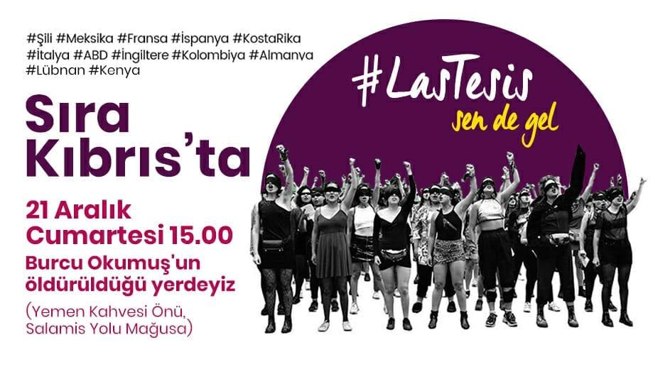 #Las_Tesis Sıra Kıbrıs'ta .. Kadın örgütlerinden çağrı...