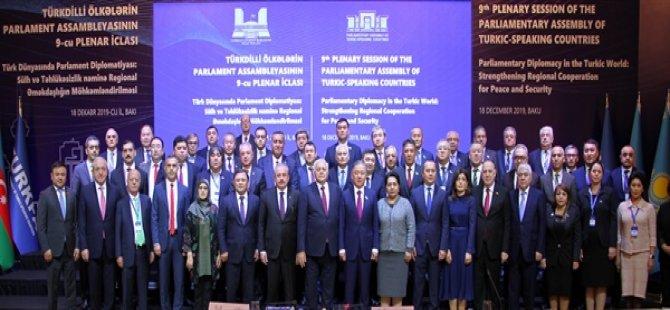 Uluçay, Bakü'de TÜRKPA Genel Kurul Toplantısı'na katıldı