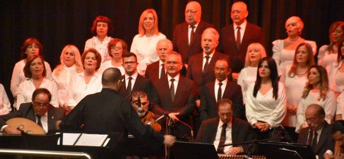 Girne Belediyesi Türk Sanat Müziği Topluluğu'nun yıl sonu konseri büyük beğeni topladı