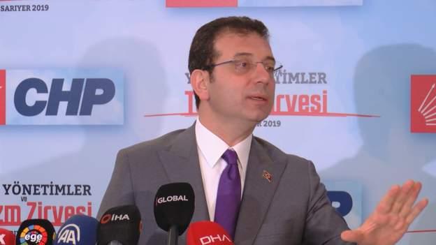 Kanal İstanbul - İmamoğlu: Bu bir rant projesi, hukuki haklarımızı inceliyoruz, Pazartesi'yi bekleyin