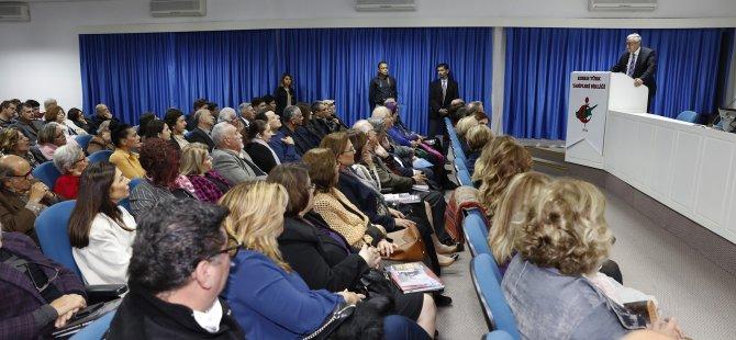 """Akıncı """"Kıbrıs'ta Sıtma Mücadelesi; Mehmet Aziz ve Arkadaşları"""" ile """"Thalasseamia Sendromları"""" kitaplarının tanıtımına katıldı"""