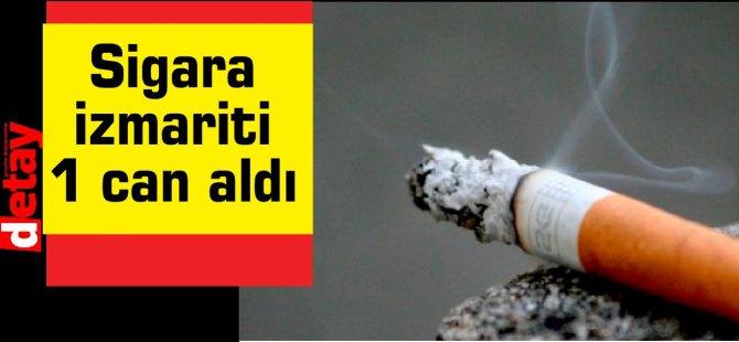 Sigara izmariti 1 can aldı!
