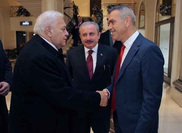 Uluçay, Azerbaycan Meclis Başkanı Asadov ile görüştü
