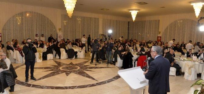 """Cumhurbaşkanı Akıncı: """"Kıbrıs Türk Eczacılar Birliği'nin verilerine göre ülkede 292 eczane var, bin 200 kişiye bir eczane düşüyor"""""""