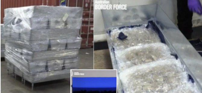 Avustralya'da ele geçirilen 650 kilo uyuşturucuda Güney Kıbrıs izi: Güneyde ilk tutuklama gerçekleşti