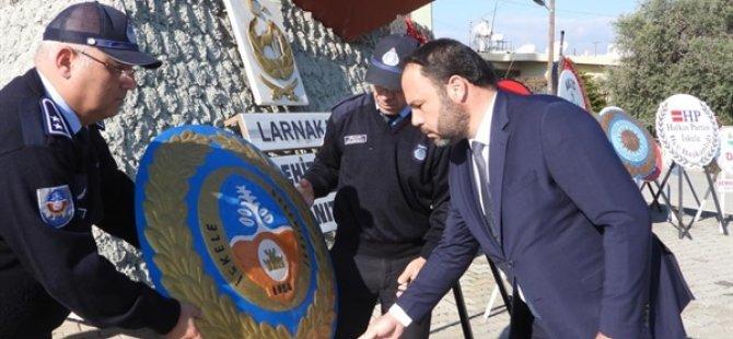 Milli Mücadele ve Şehitler Haftas: İskele Larnaka Şehitler Anıtı önünde tören düzenlendi
