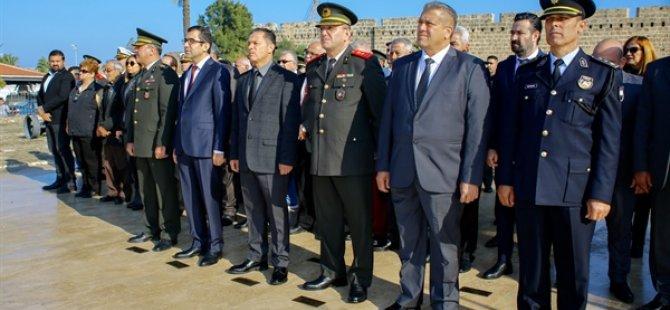 Milli Mücadele Ve Şehitler Haftası nedeniyle Gazimağusa'da tören düzenlendi