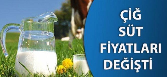 Çiğ süt fiyatları yeniden belirlendi