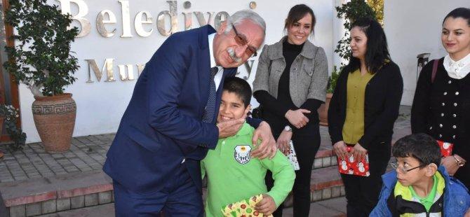 Güngördü'ye özel misafirlerinden yeni yıl ziyareti