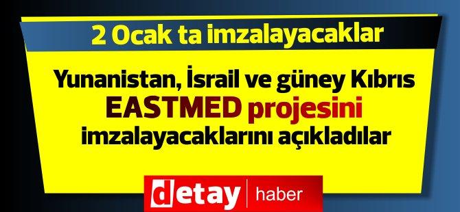 Yunanistan, güney Kıbrıs ve İsrail doğal gaz için birleşiyor