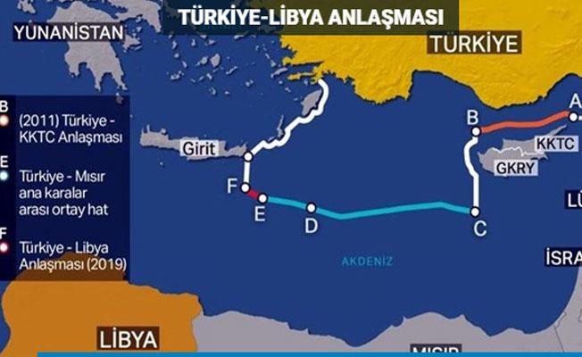 """İbrahim Kalın:""""Doğu Akdeniz'deki petrolü Türkiye'yi by pass ederek çıkarmaya çalışıyorlar"""" açıklamasını yaptı"""