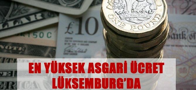Lüksemburg'da asgari ücret 2 bin 71 Euro