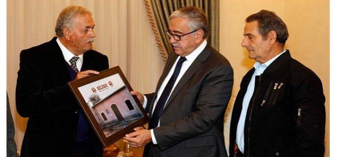 Cumhurbaşkanı Akıncı, Siligu Dayanışma Derneği'ni kabul etti