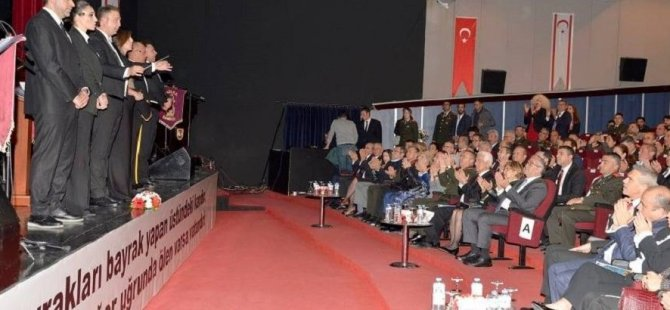 Cumhurbaşkanı Akıncı, Milli Mücadele ve Şehitleri Anma programına katıldı
