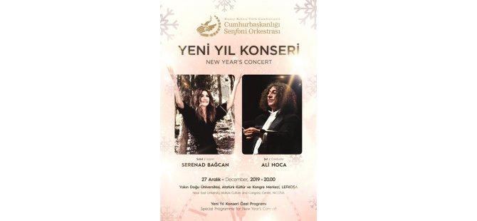 Cumhurbaşkanlığı Senfoni Orkestrası yarın akşam yeni yıl konseri verecek