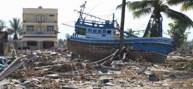 Tsunami felaketinin 15. yıl dönümünde anma törenleri