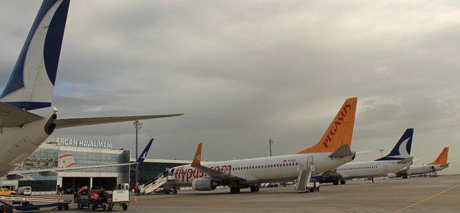 Ercan Havalimanı 2020'nin ilk günü 112 uçağa hizmet verecek