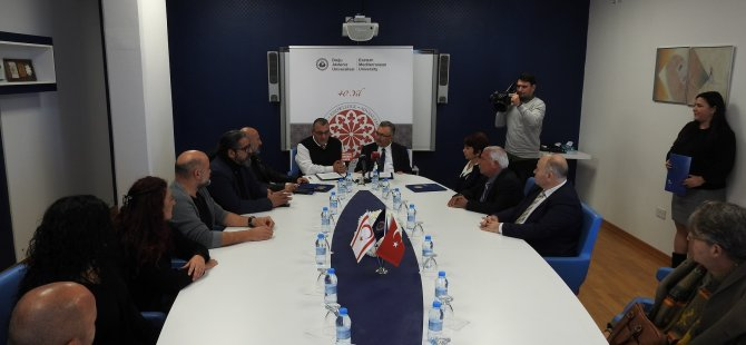 DAÜ'de akademik personel ile toplu iş sözleşmesi imzalandı