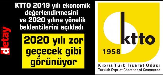 Kıbrıs Türk Ticaret Odası: 2020 yılı zor geçecek gibi görünüyor