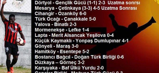 15 Süper, 1 Birinci Lig Takımı Tur Atladı..!