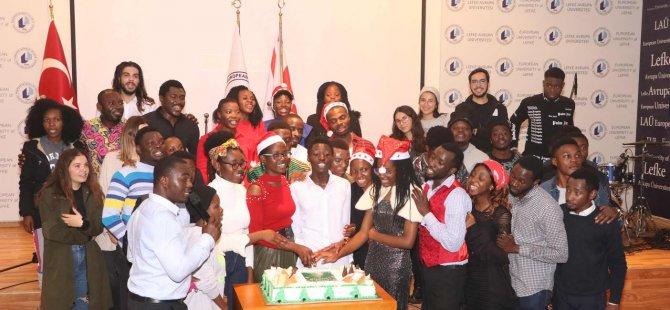 LAÜ öğrencileri Christmas'ı kutladılar