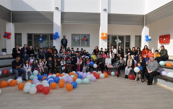 Değirmenlik Belediyesi Özle Türkel Sosyal Aktivite Merkezi yeni yıl etkinliği düzenledi