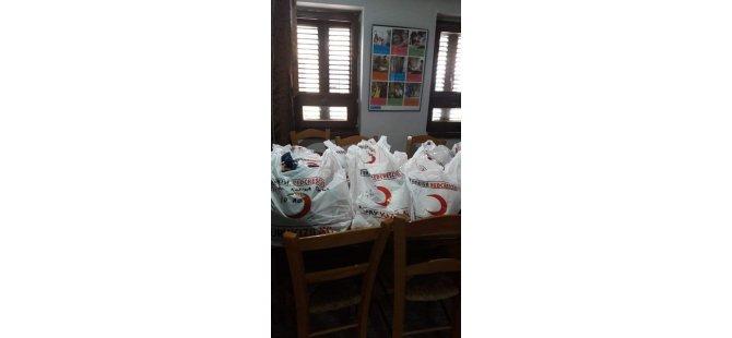 Girne Kızılay Şubesi'nden SOS Gençlik Evi'nde bağış