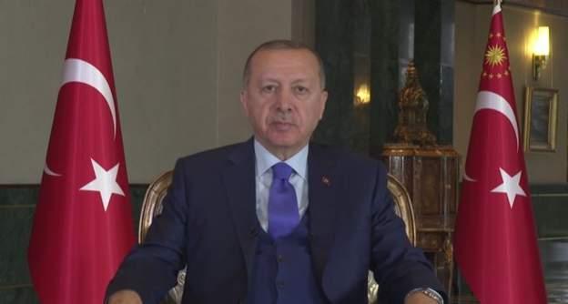 Erdoğan: Türkiye'yi Akdeniz'den dışlama adımları akamete uğratıldı