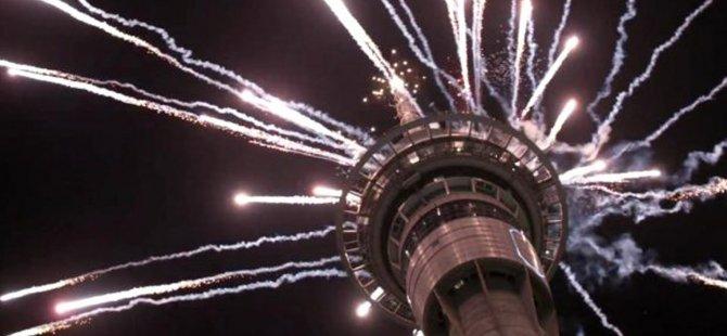 Yeni Zelanda 2020 yılına girdi