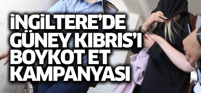 """İngiltere'de """"Kıbrıs'ı Boykot Et"""" kampanyası başlatıldı"""