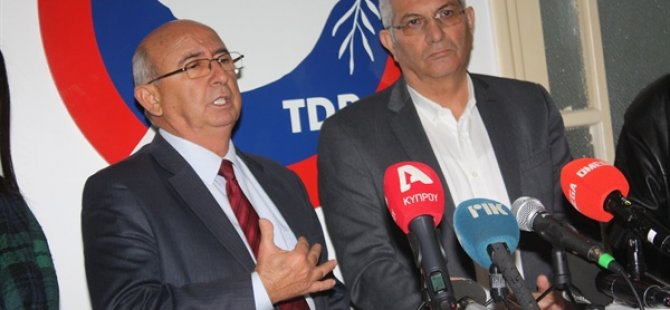 AKEL Genel Sekreteri Kiprianu ve heyeti TDP'yi ziyaret etti