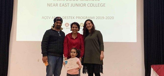 """Yakın Doğu İlkokulu'nda uygulanan """"Aile Destek Projesi""""nin ilk eğitimi tamamlandı"""
