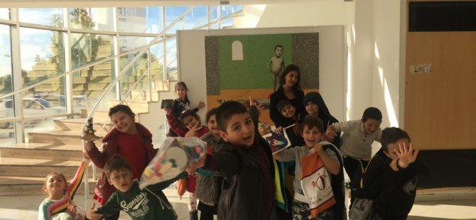 Özay Günsel Çocuk Üniversitesi'nde yeni yıl etkinlikleri yapıldı