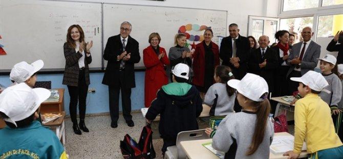 """Cumhurbaşkanlığı """"Temiz Düşün Yeşil Okullar Projesi"""" kapsamında okullardaki """"iklim değişikliği"""" konulu eğitim devam ediyor"""