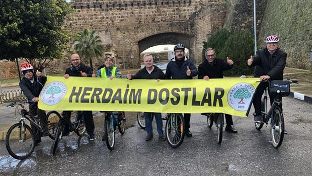 Her Daim Dostlar Bisikletin Sıfır Karbon Salınımlı Oluşuna Dikkat Çekmek İçin Etkinlik Düzenledi