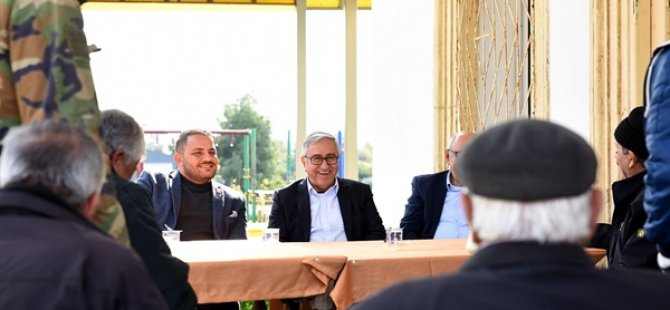 Cumhurbaşkanı Akıncı Karpaz'daki Köy Ziyaretlerine Devam Etti