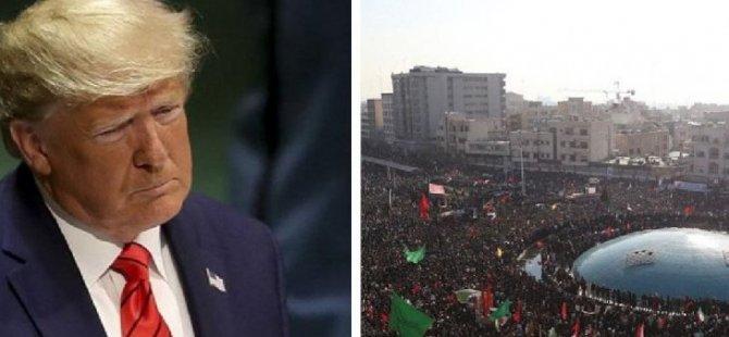 ABD Başkanı Trump'tan İran'a ılımlı mesaj: İran'ın doğal düşmanı IŞİD'i ortadan kaldırdık, birlikte çalışmalıyız, dünyada barış istiyoruz
